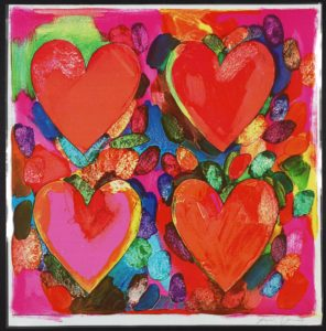 Four Hears Jim Dine